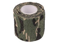 ASG Camouflage Stretch Fabric, Woodland