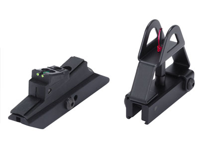 AirForce Quick-Detach Fiber Optic Open Sights, Fits AirForce Talon & Condor