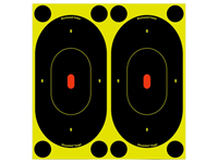 "Birchwood Casey Shoot-N-C Targets, 7"" Silhouette, 12 Targets   48 Pasters"