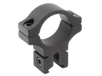 "BKL Single 1"" Ring, 3/8"" or 11mm Dovetail, 0.60"" Long, Medium, Black"