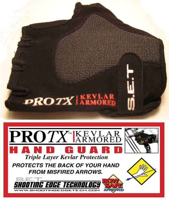 ProTX Kevlar Armored Hand Guard BLACK