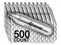 Crosman 12 Gram CO2, 500 Copperhead powerlet cartridges