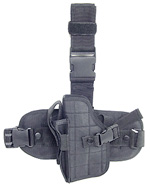 UTG Special Operations Universal Tactical Black Leg Holster, Left Handed