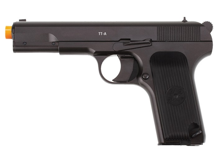 Gletcher TT-A Metal Blowback CO2 Airsoft Pistol