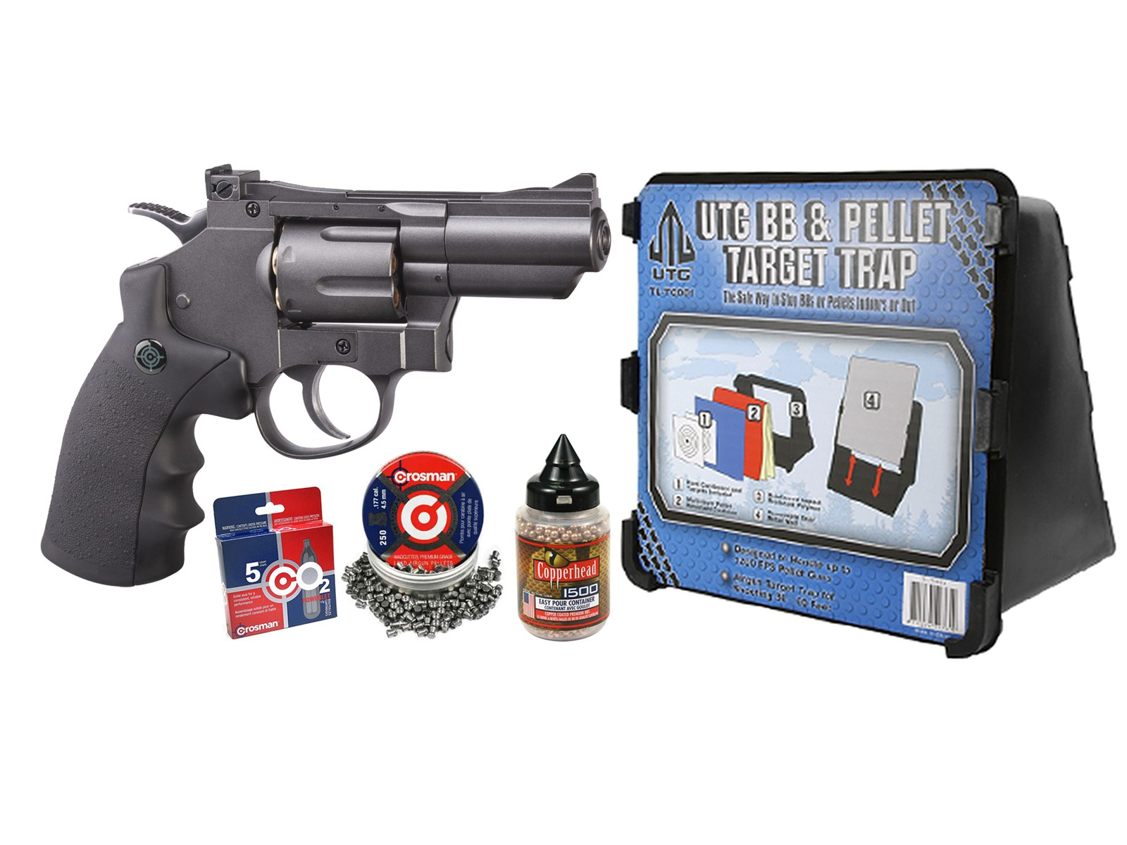 Crosman SNR357 CO2 Dual Ammo Full Metal Revolver Kit
