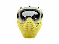 Scott Vectra Airsoft / Paintball Referee Yellow Goggle  Anti-Fog Mask