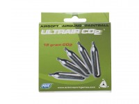 ASG UltraAir 12g CO2 Cartridges, 5ct