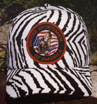 Ted Nugent Classic Zebra Hat BACK ORDERS ONLY